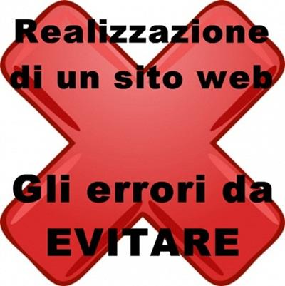 errori da evitare su un sito web