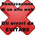 Realizzazione di un sito web: errori da non commettere